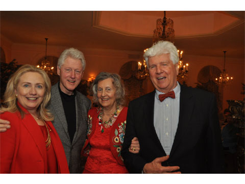 Clinton's visit to Barbetta
